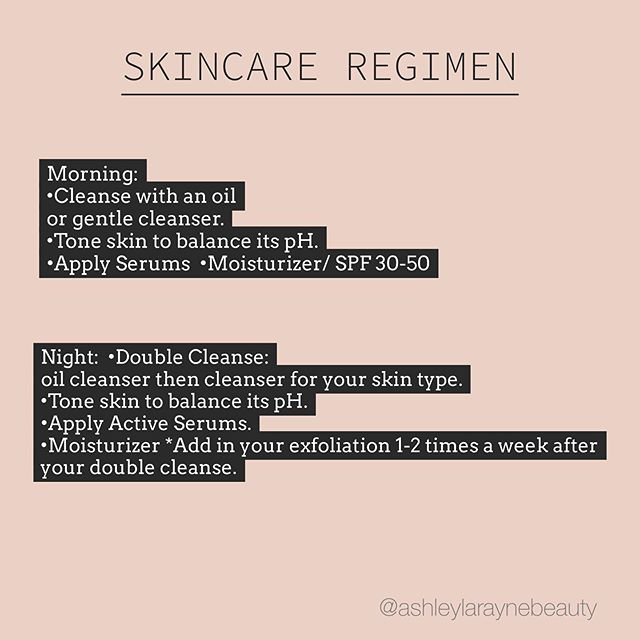 For all my clients who get a little confused on which order your products should go... Here is a little routine for you! Of course all of the products you use should be specific for your skin type and condition. Like anything in life, achieving your skin goals requires consistency and patience. Hopefully this little guide can help you! Also, please let me know if you need assistance or have questions! 💛