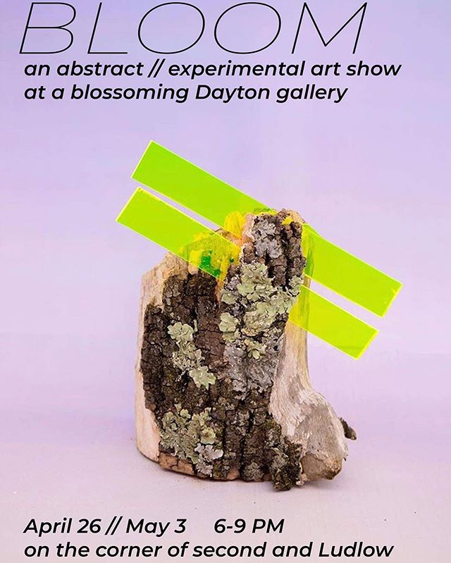 Check out an experimental art show tomorrow night: BLOOM! . . . 6:00pm-9:00pm  Where: Corner of 2nd street and Ludlow . . . #udartanddesign #bloom #abstractart #experimentalart