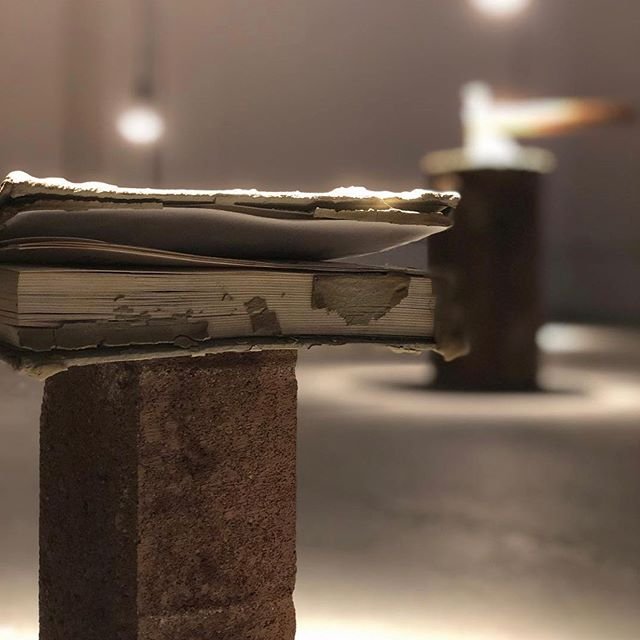 "Tonight is First Friday @frontstreetbuildings! Check out at @luketicceramics ""To Throw a Pot""🌾 . . . . 6-9pm at Divisible Gallery. . . . . #udartanddesign #ceramics #firstfriday"
