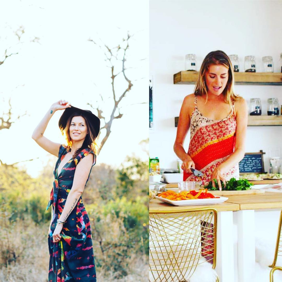 Tristan Prettyman and Erica Jane will be demonstrating healthy cooking tips for rape survivors to combat anxiety, depression, and PTSD.