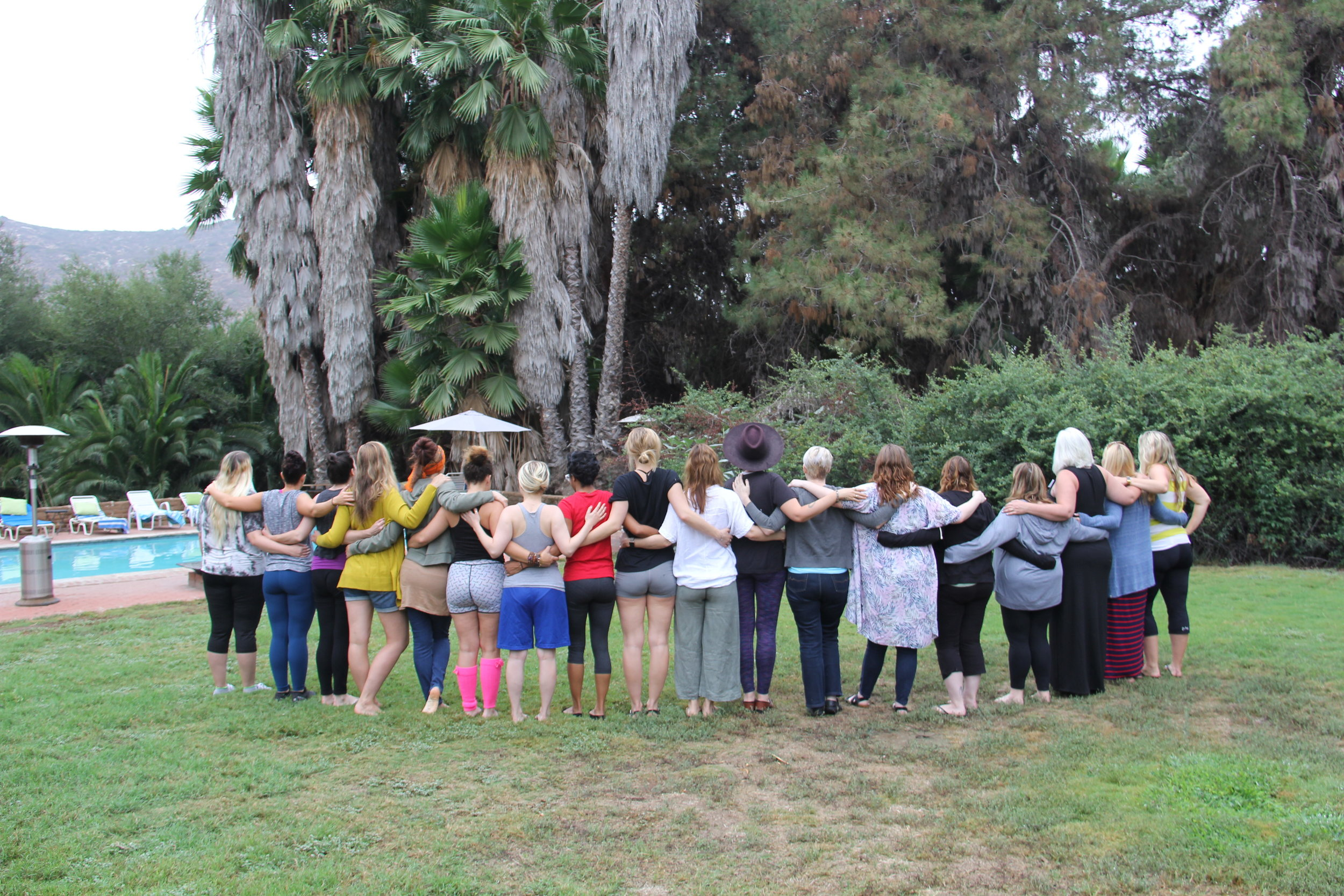 Attendees at the 2018 Sunlight Retreats for rape survivors, held in an undisclosed location in San Diego, received help and support during a weekend of healing. Applications for the 2019 retreat open on March 15. Courtesy photo