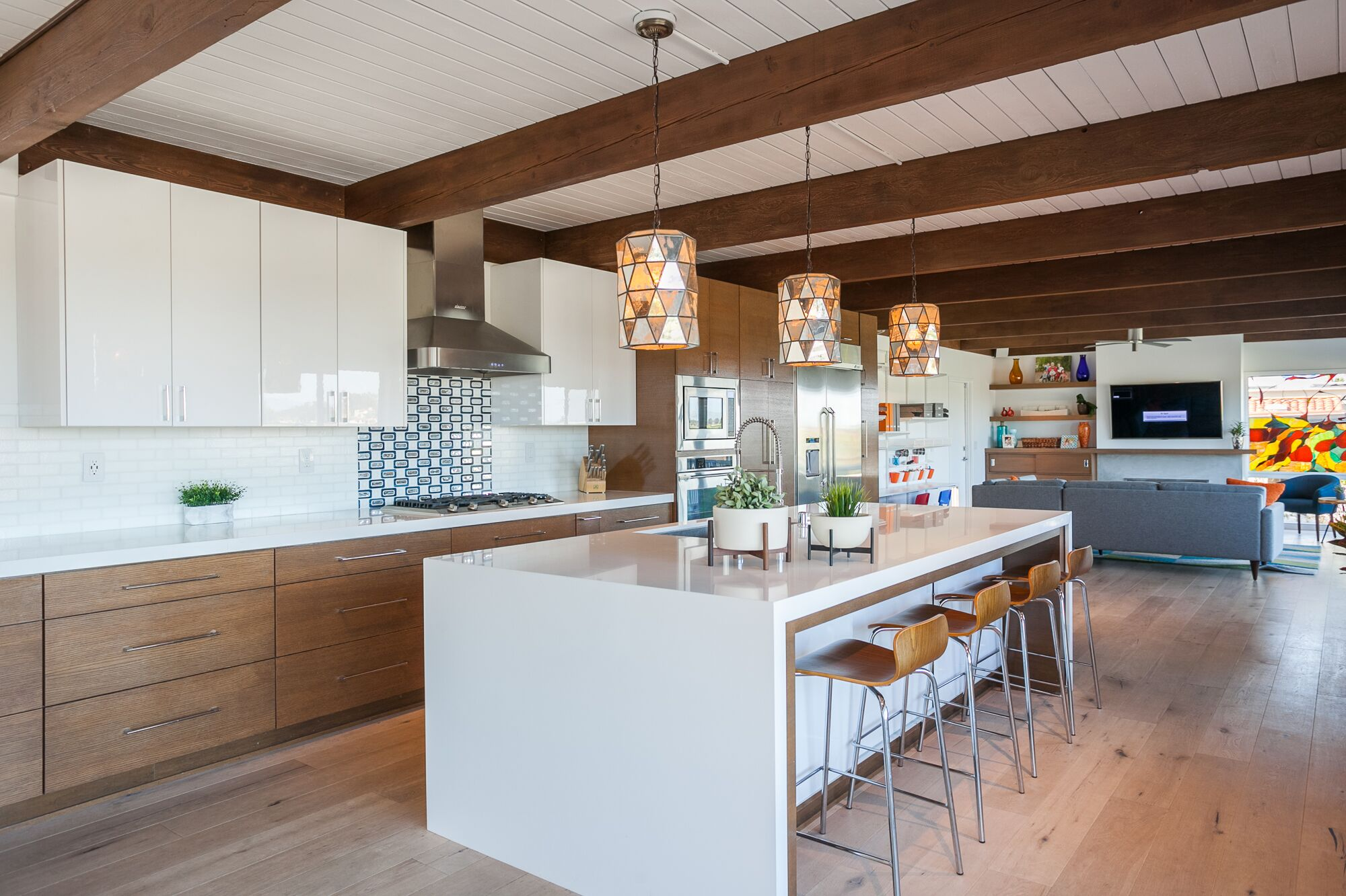Anthology Interiors Midcentury Modern Kitchen