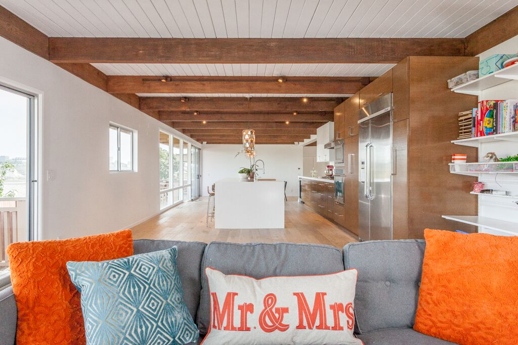 Anthology Interiors Midcentury Modern Family Room