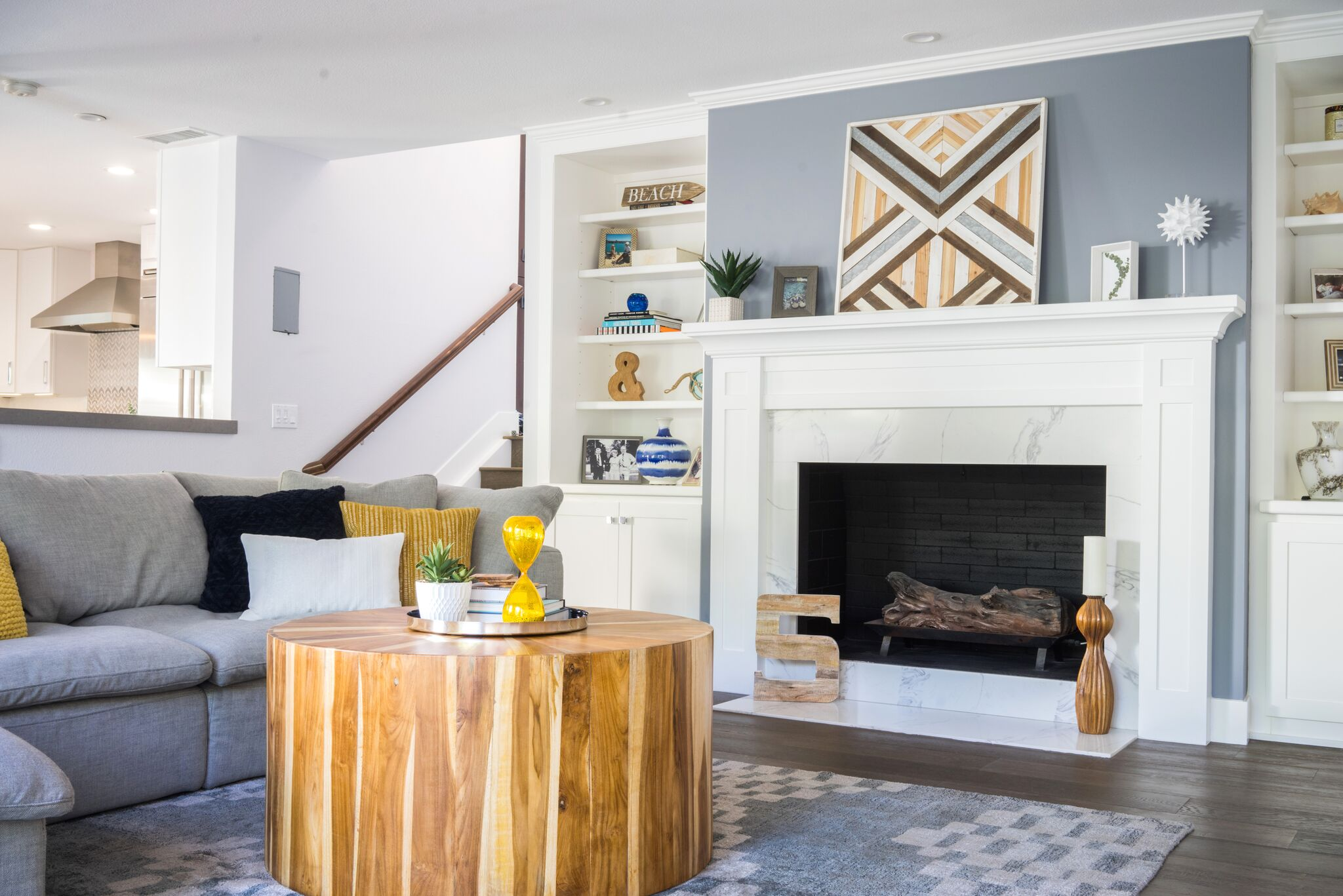 Anthology Interiors Coastal Living Room
