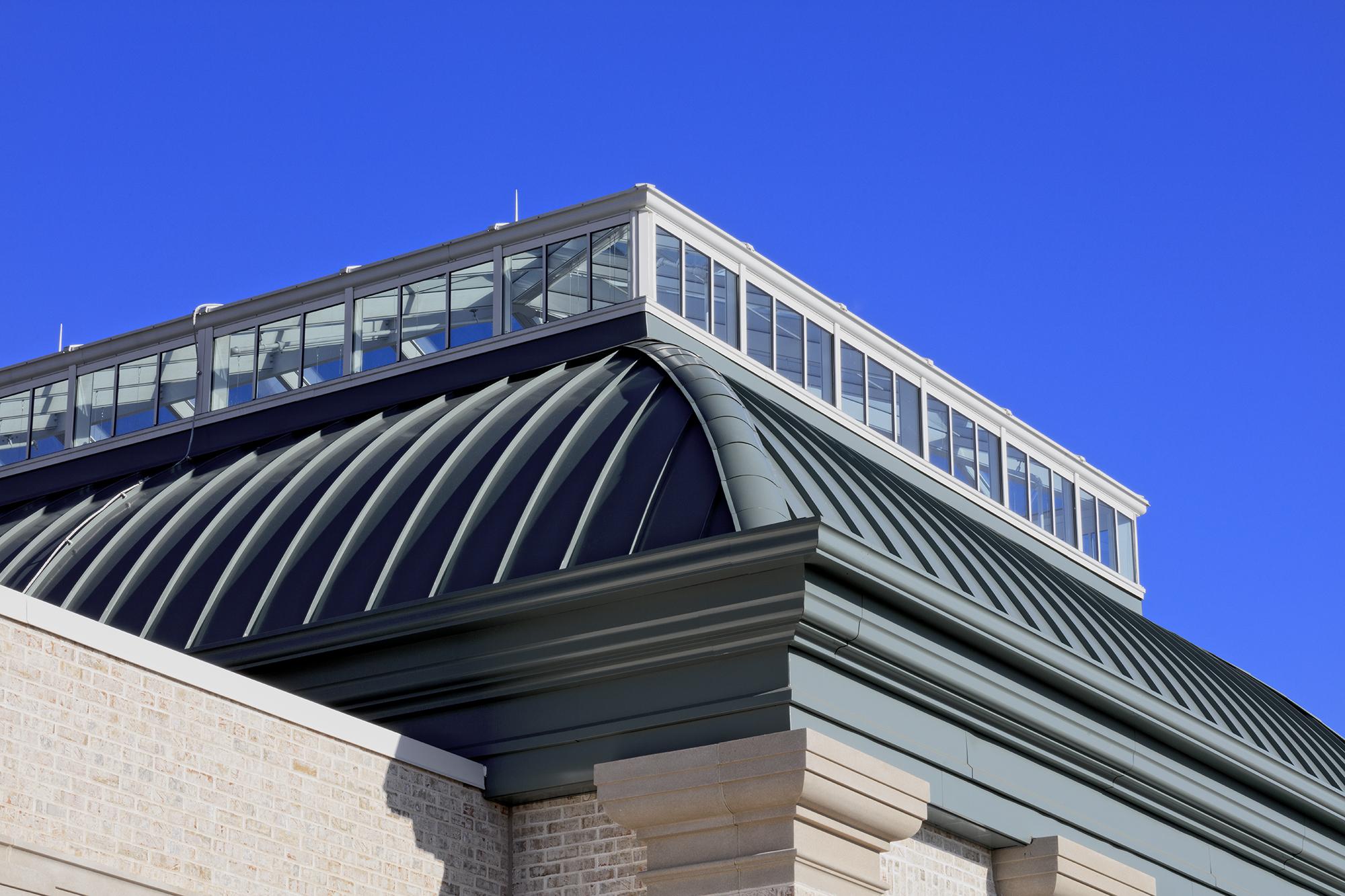 Hershey Gardens roof