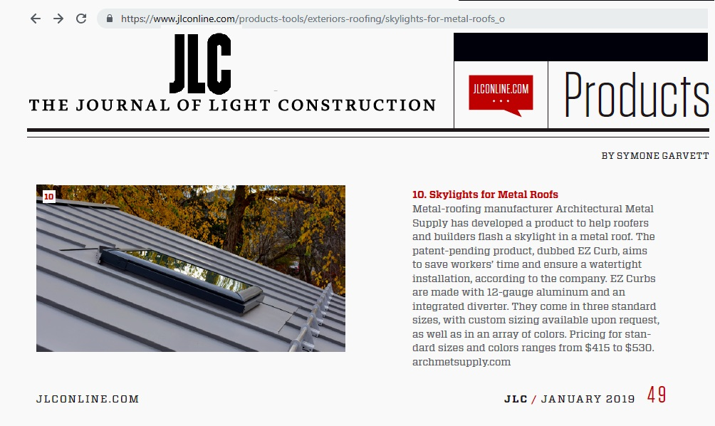 T he Journal of Light Construction - Future Product Round UP / January 2019