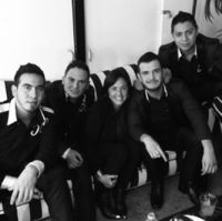 Calibre 50, Claudia Brant-Backstage, Los Angeles