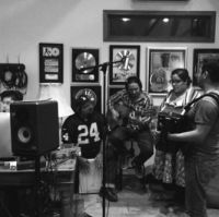 La Santa Cecilia-Writing Session, Brantones Records studio, Los Angeles 2014