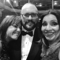 Claudia Brant, Desmond Child, Olga Cardona-ASCAP Latina Awards, New York