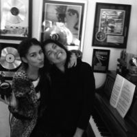 Denisse (Belanova), Claudia Brant-Brantones Records Studio, Los Angeles 2013