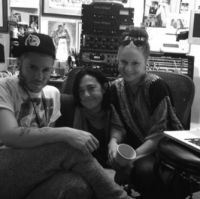 Ferras, Claudia Brant, Sarah Hudson-Session, Los Angeles