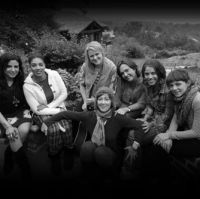 Lena, Erika Nuri, Carolyn Dwan Johnson, Jonatha Brooke, Claudia Brant, Debi Nova, Natalia Lafourcade-Woman without Borders Songcamp,Woodshed Studios, Malibu CA