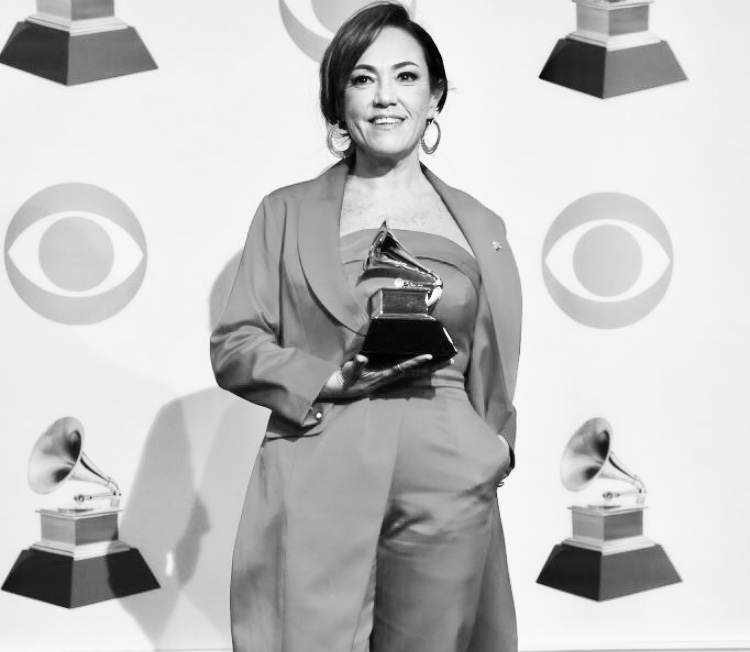 Claudia Brant Grammys 2019, Best Latin Pop winner, Los Angeles - Feb 2019