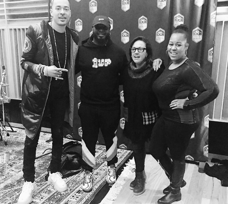 Mottiff, T-Pain, claudia Brant, Makeba Woods, Made in Memphis, RA writers retreat, Memphis - Feb 2019