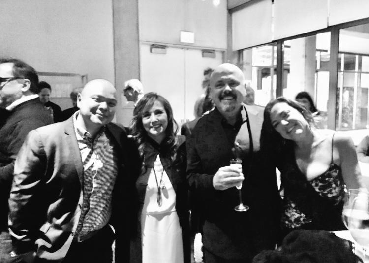 Miembros de ASCAP Ryan y Loretta Munoz, Walter A y Claudia Brant,  Premios ASMAC - Feb 2019