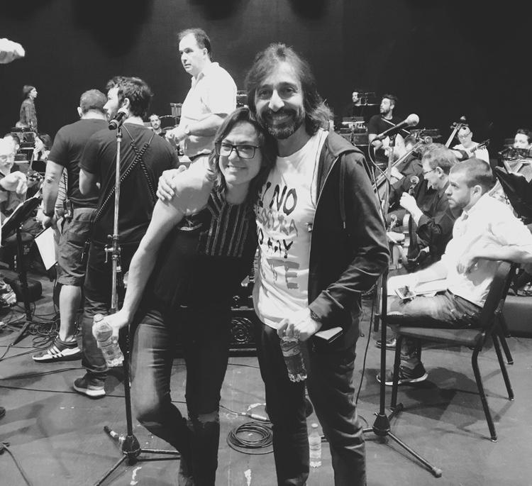 Claudia Brant y Antonio Carmona, Ensayo Teatro Colón, Buenos Aires - Feb 2019