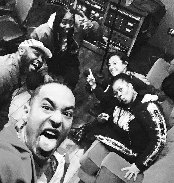 Mottiff, Sebastian Kole, Tish Hyman, Claudia Brant y Makeba Woods, Estudio Made in Memphis - Feb 2019