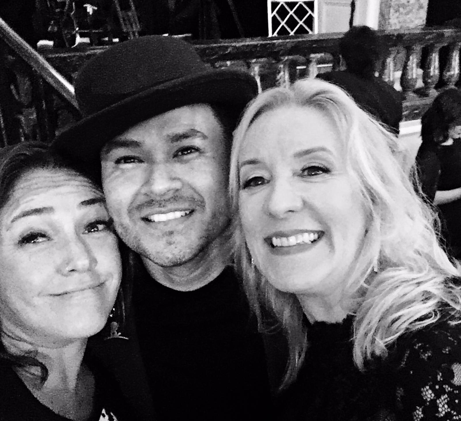 Claudia brant, Frankie J Umpg Vp Alex Liutiko,  BMI Latin Awards Beverly Hills