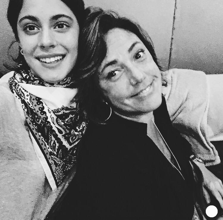TINI y Claudia Brant
