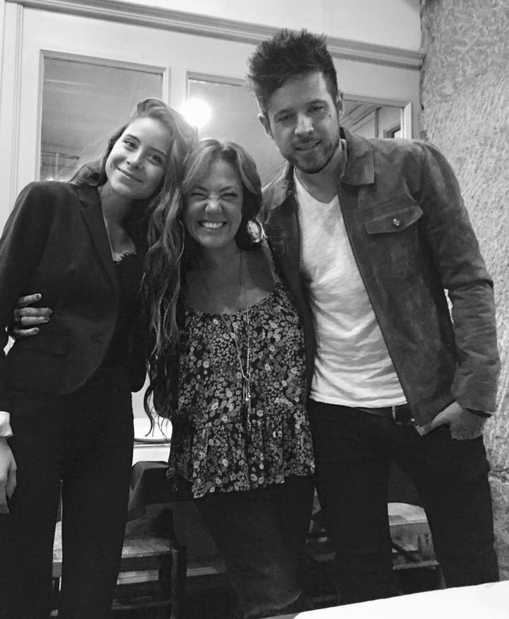 Camila Gallardo, Claudia Brant y Pablo Lopez. Madrid