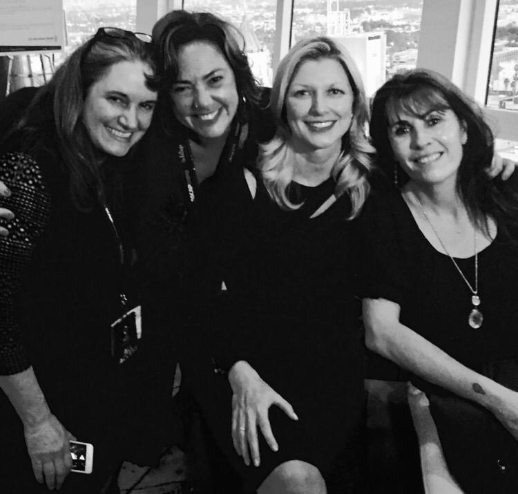 Lauren Loosa, Claudia Brant, beth Mathews, Gabriela Gonzales. ASCAP Expo. Los Angeles