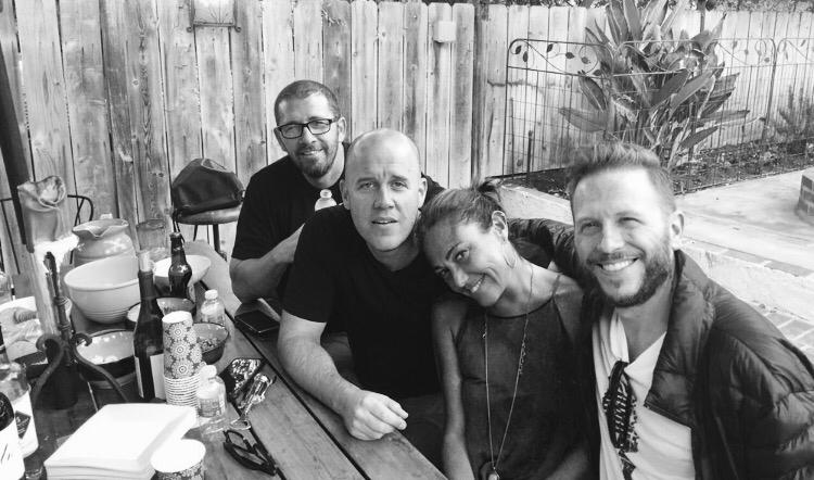 Nel Schajris, Claudia, GianMarco, Sebastian Krys. Woodland Hills