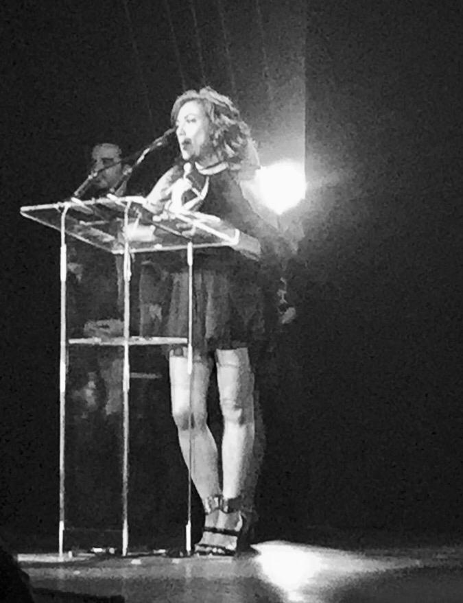 Discurso introductorio de aceptación. Latin Songwriters Hall of Fame