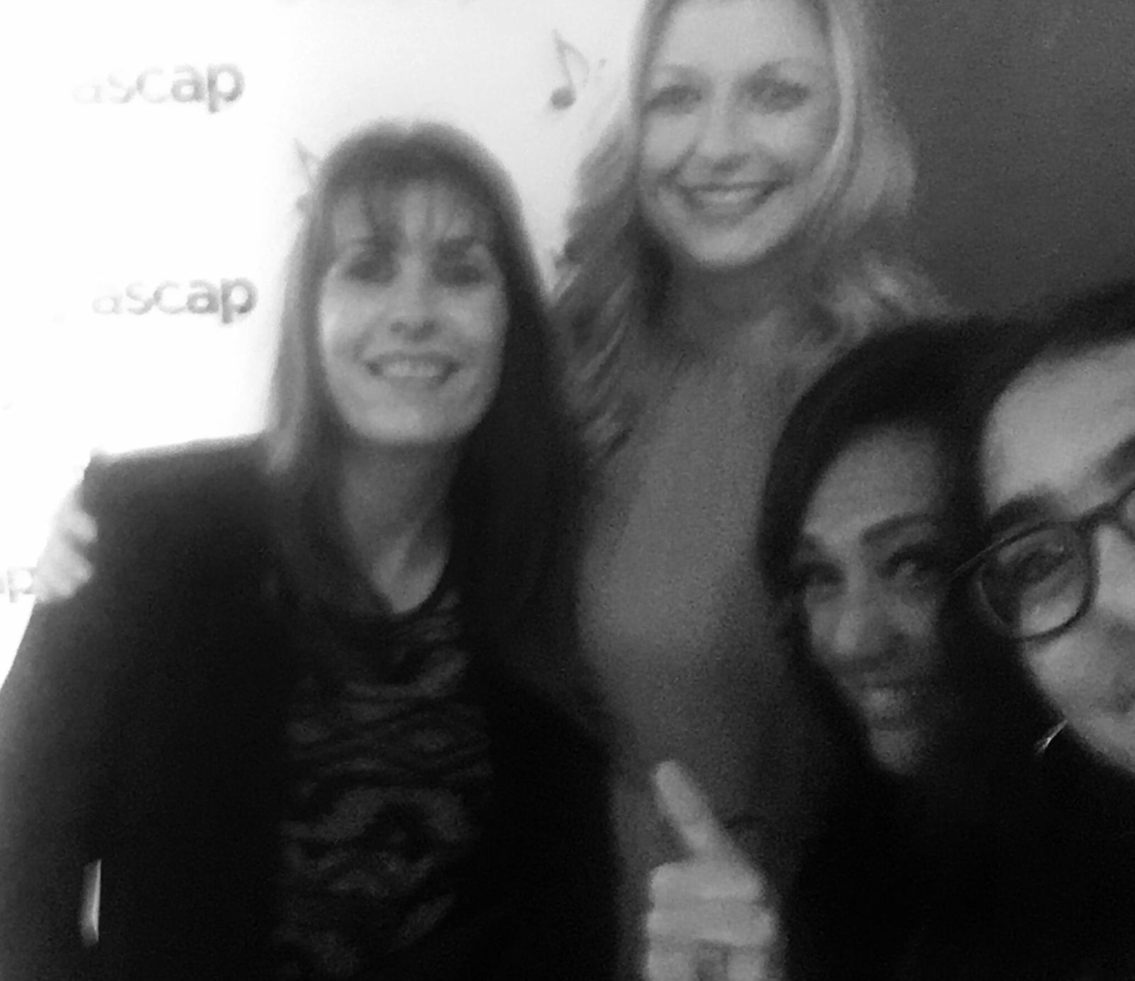 Gaby Gonzales ASCAP's CEO, Beth Mathews y Claudia Brant