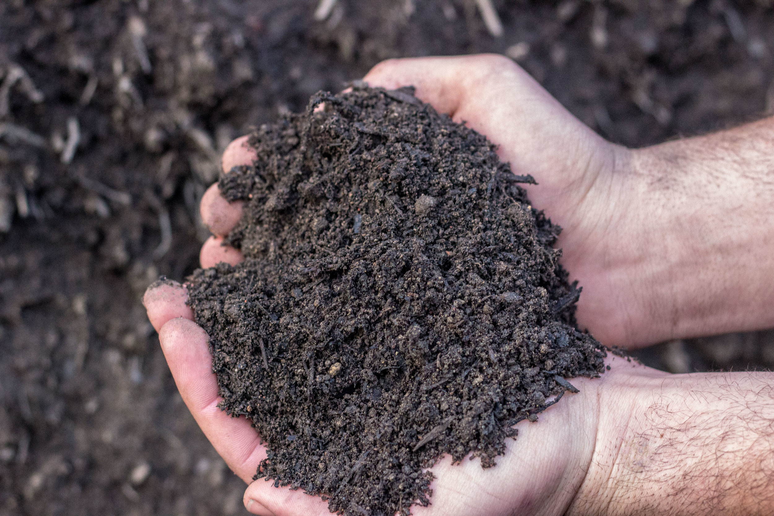 Screened Topsoil - Available at all locations