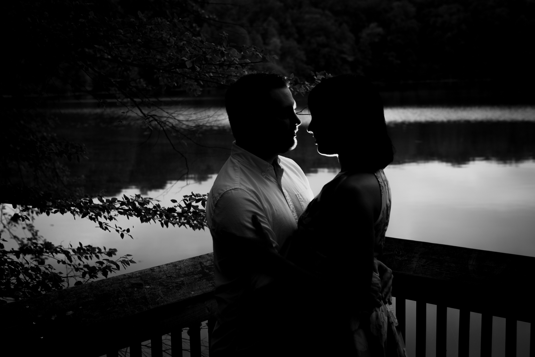 Yates Mill Park Engagement photography