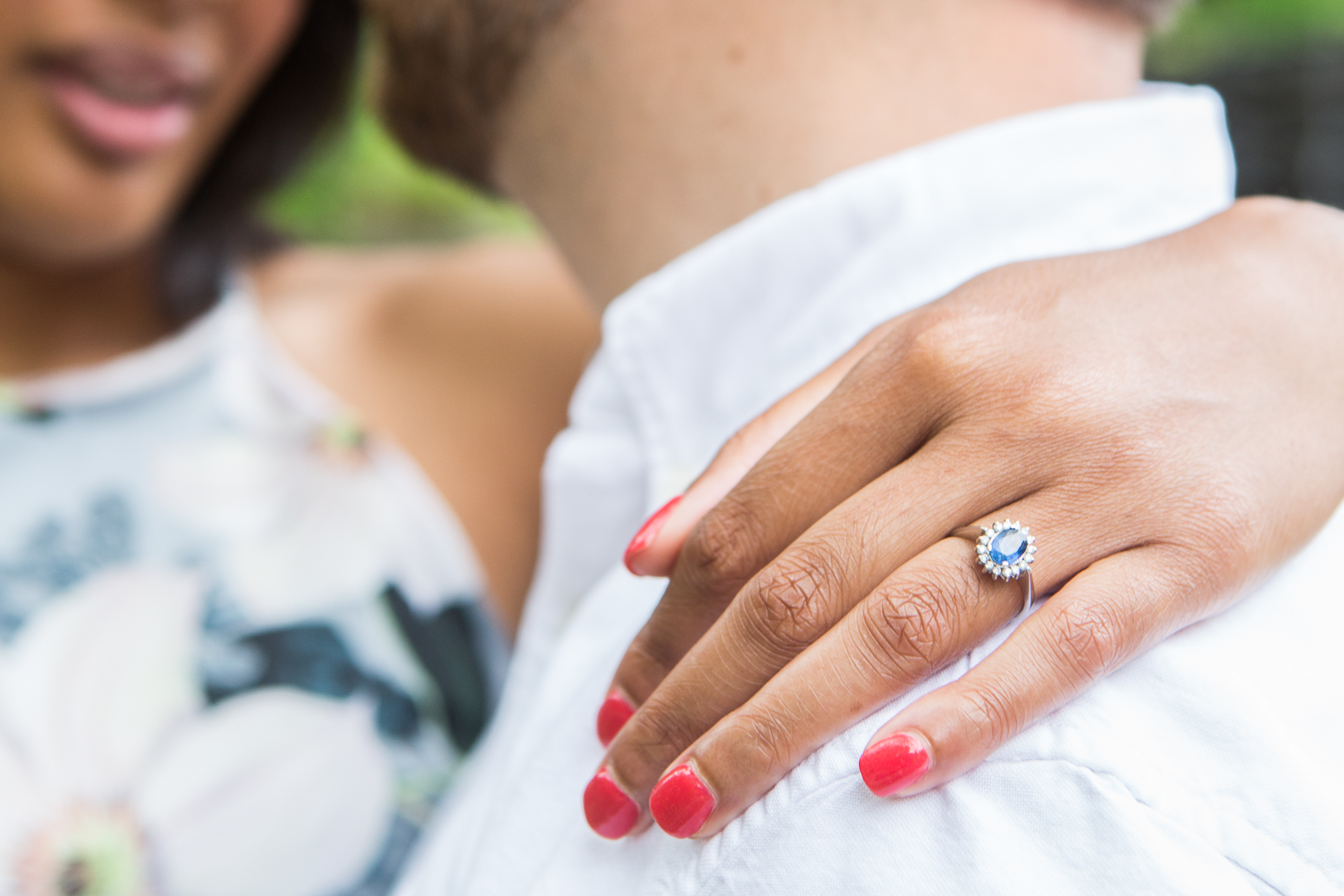Engagement Ring Picture - Raleigh, NC wedding photographer