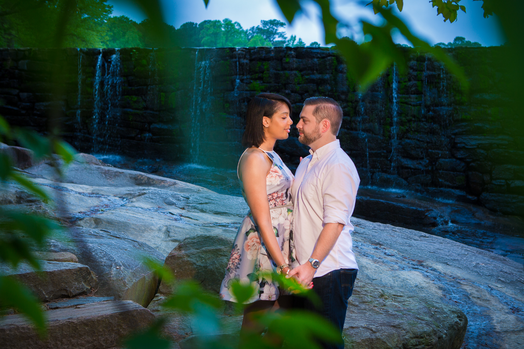 Yates Mill Park Raleigh, NC Engagement photography session