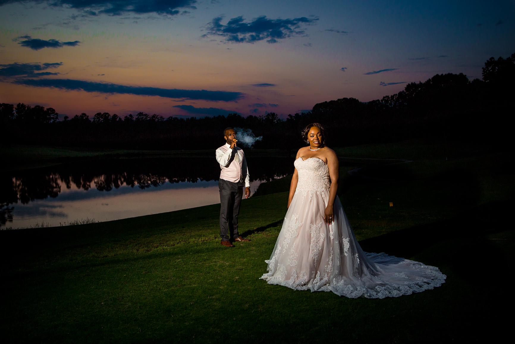 Raleigh wedding portrait photography