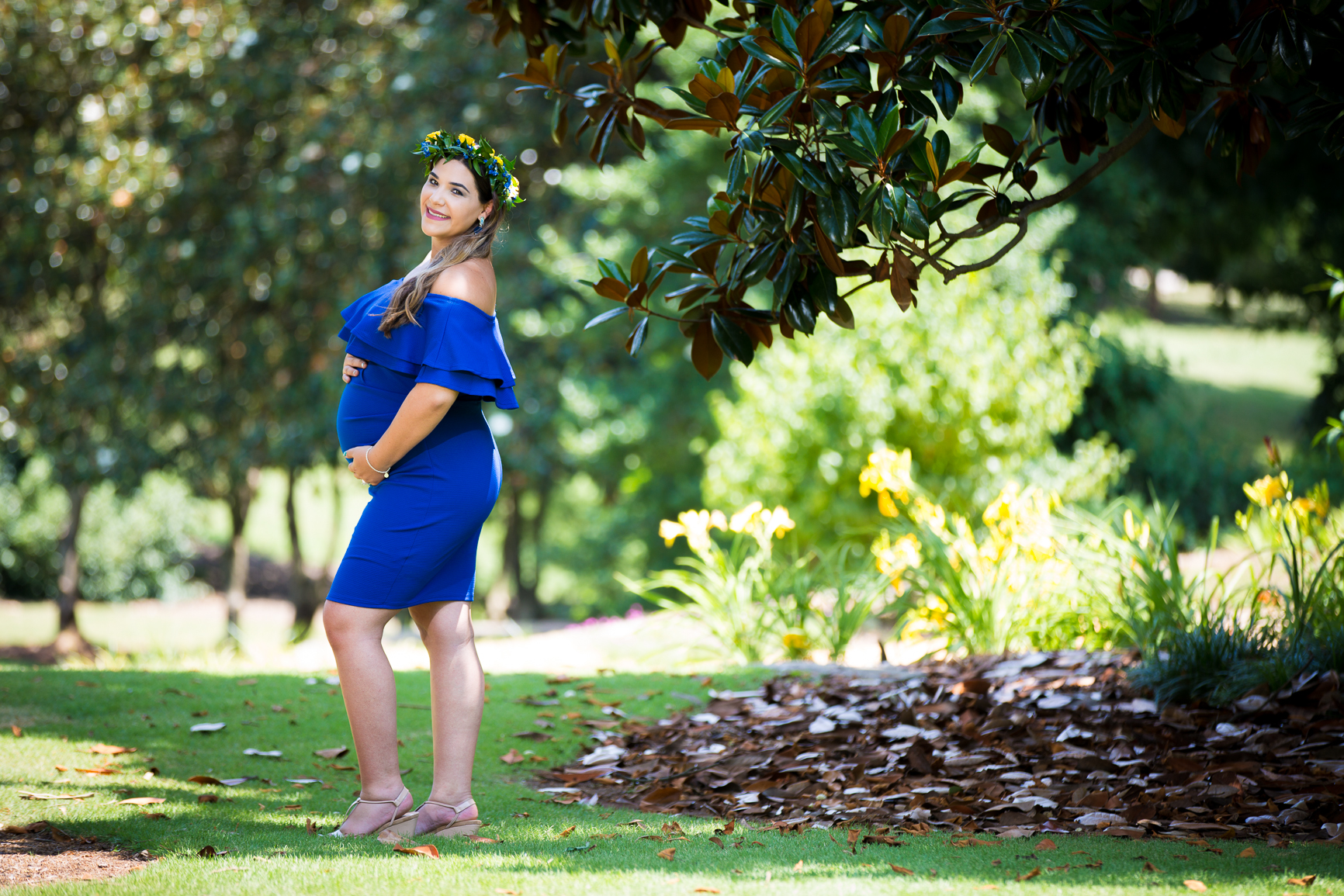 Raleigh maternity photography -  Fred Fletcher Park