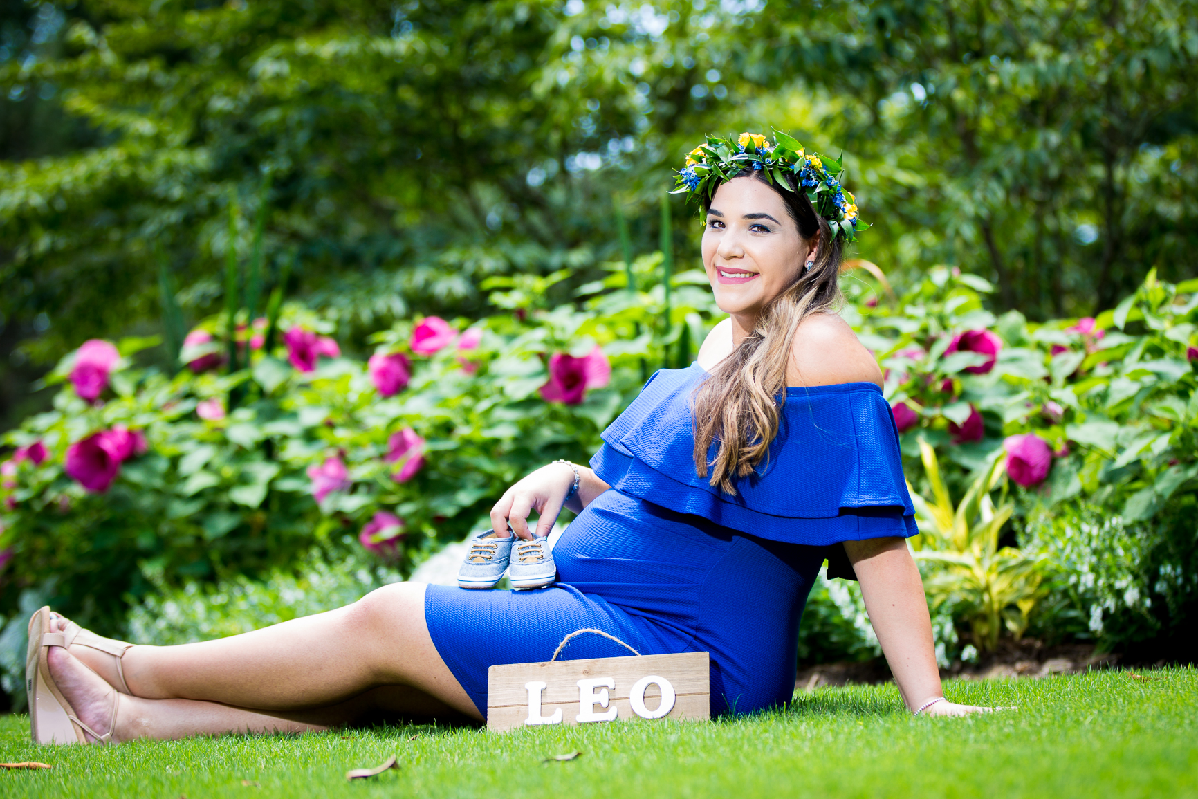 Raleigh, NC maternity photography session at  Fred Fletcher Park