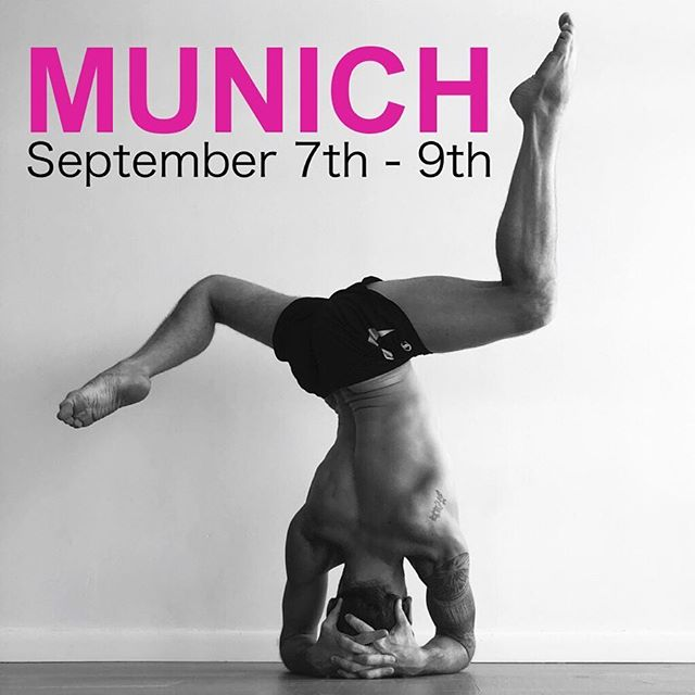 I need to know all the best restaurants in Munich. Favorite sights too! Im so excited to visit Germany for a weekend of classes this September. 😍  Will you join me at the studio of @veronika_mahashakti_yoga ? 💗ADJUSTEMENT AFTERNOON  Fr 12:45 - 03:15 pm Why do an adjustment at all? How do I do one safely? Where do I touch, how much pressure? These are some of the questions we'll look into during this hands-on workshop. We will explore assisting several fundamental asanas including forward folds, triangle and extended side angle among others. Insightful for teachers and practioners alike, you will leave feeling confident in knowing when, why and how to use these adjustments. 💗LED PRIMARY SERIES, ASHTANGA (or do the half Primary and the finishing sequence) Sat/Sun 07:00 - 09:00 am Move through this traditional vinyasa sequence with Joseph guiding you towards just the right balance of effort and ease. Using the Tristhana method, we will focus our breath, gaze and movement into a purifying practice of yoga. 💗YOGA AND THE VAGUS NERVE  Sat 06:45 - 09:15 pm Learn to hack your nervous system using a synthesis of ancient yogic techniques paired with modern scientific know how. The Vagus Nerve down regulates and relaxes the major systems of the body. It is possible to tap into this power and increase our connection to flow states and the relaxation response. This can result in increased presence, psychological and physical well being. Guided imagery, meditation, vocal techniques, breath work and discussion will all be a part of this session. Practioners will leave with a working knowledge of the parasympathetic nervous system and how to use it to modify the state of the mind and body. 💗BACKBENDS Sun, 03:00 - 5:30pm Expand the front body and open the heart. Create a firm base. Learn to lift, not collapse. Build tolerance for challenge. These are some of the lessons one moves through in backbending. In this workshop students will learn to strike the right balance between ease and effort. They will learn patience with adversity. We will explore how dedication, determination and devotion relate to backbends and how confidence can result from steady practice.