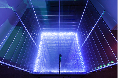 Eternal Light -Well of yagob  110x110x110  Black Mirror, LED,2013..png