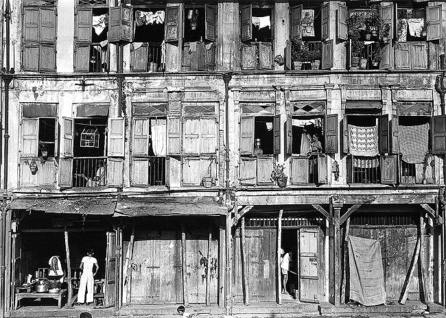 Old Bombay Dwellings , Bombay, 1970