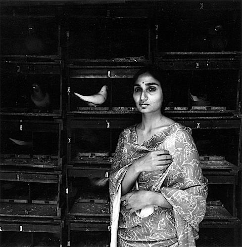 Amrita Patel, the Daughter of Sardar Patel, New Delhi, 1976