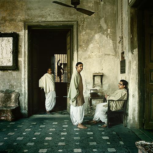 Mr. Mitter in his House, Calcutta, c. 1980