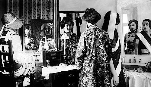 Bourgeois Family: Mirror Frieze , Re-Take of Amrita, 2001