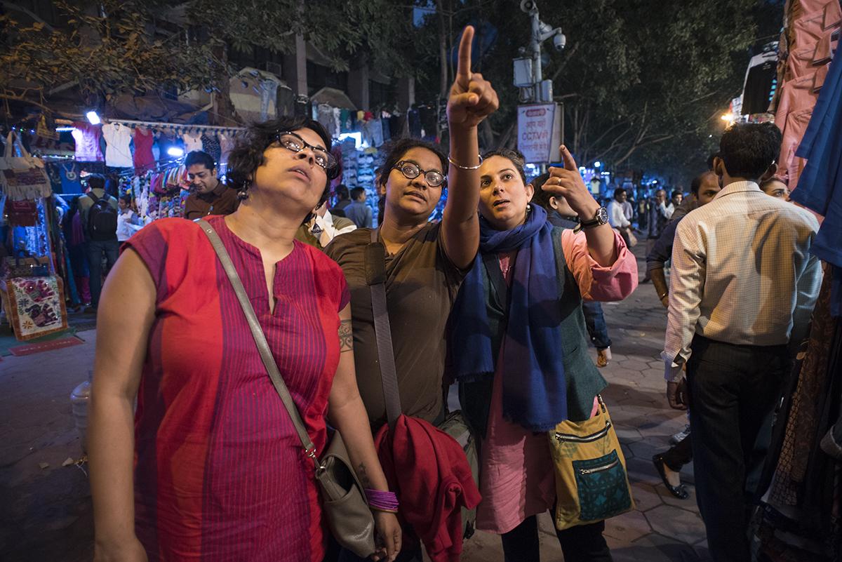 Sunil Gupta & Charan Singh, Indu, Ponni and Deepti #1 , 2017