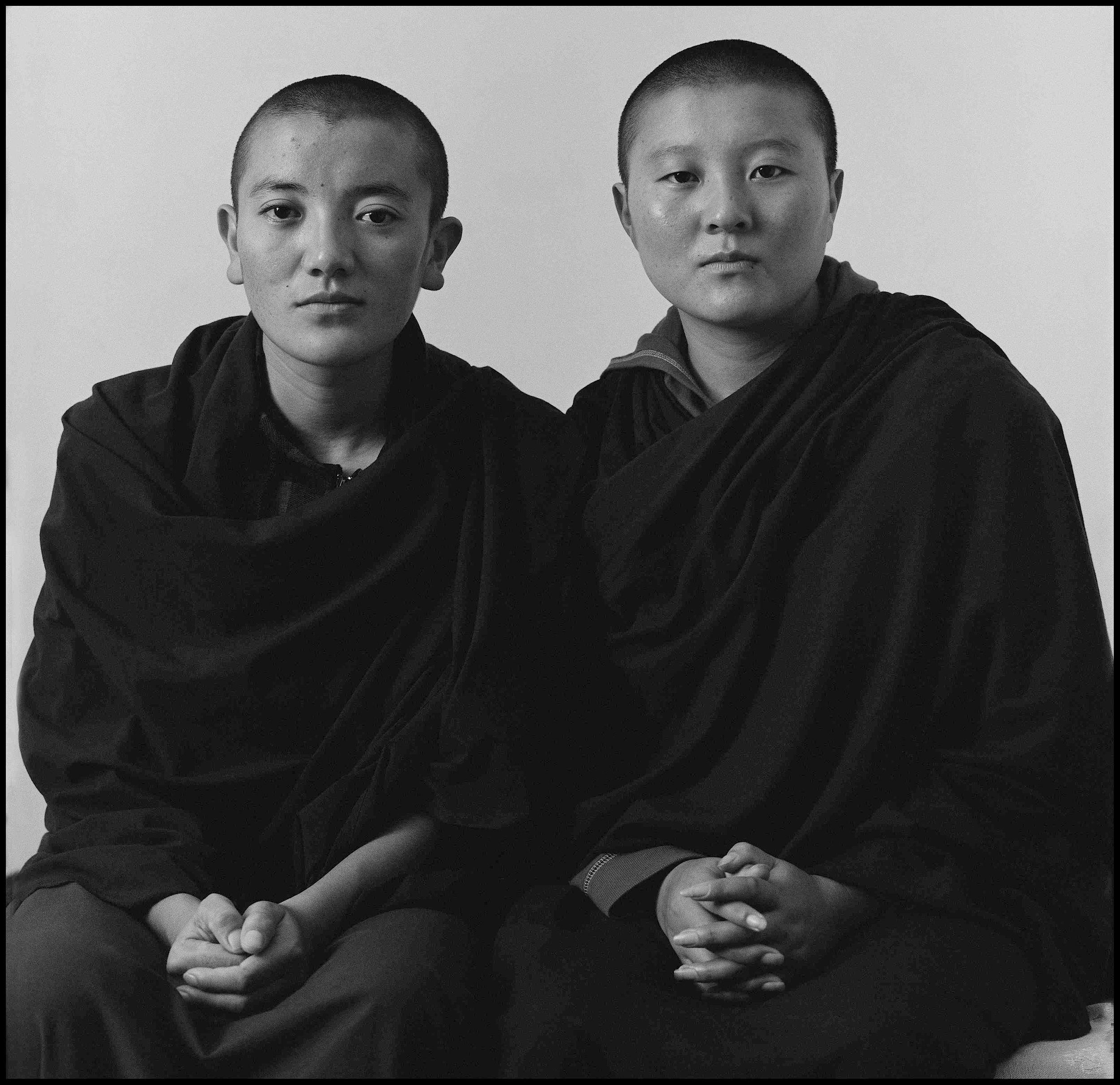 Serena Chopra, Ngawang Choetso and Tsultrim Dolma , from the  Majnu Ka Tilla Diaries , Delhi 2009