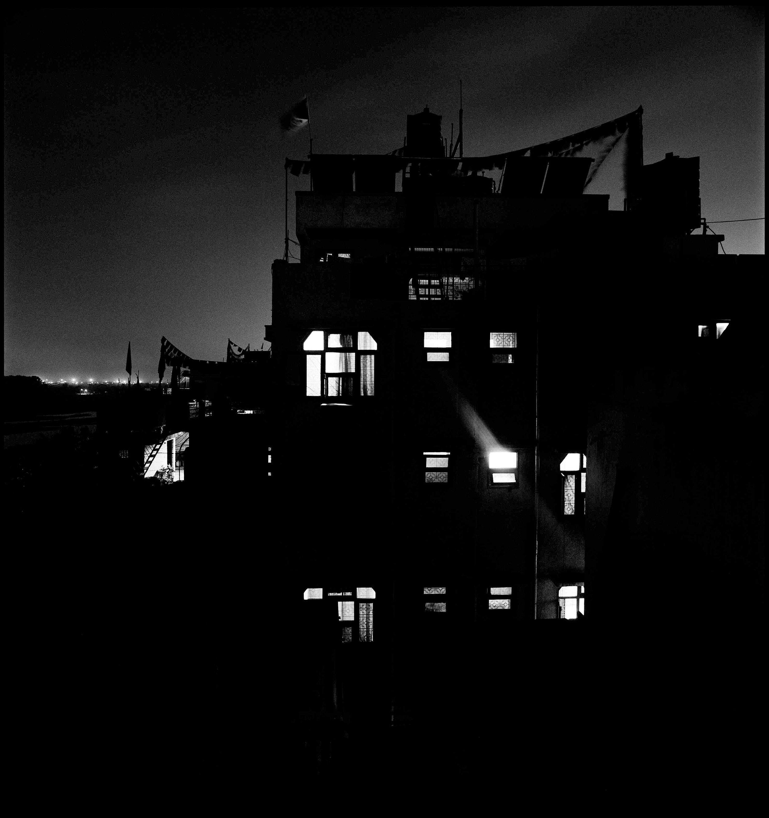 Serena Chopra, Night-Time , from the  Majnu Ka Tilla Diaries , Delhi 2008