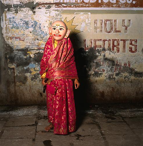 Phyllis Galembo, Holy Hearts, India , 2013