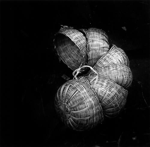 Annu Palakunnathu Matthew, Baskets, Memories of India , 1996