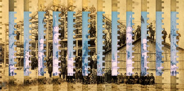 Osamu James Nakagawa, Castles from  Ma – between the past , 2003