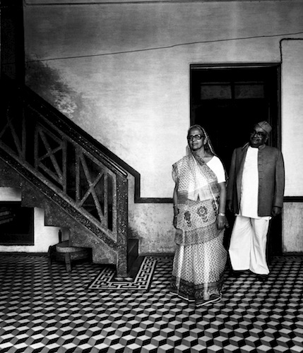 Couple, Lucknow , 1977