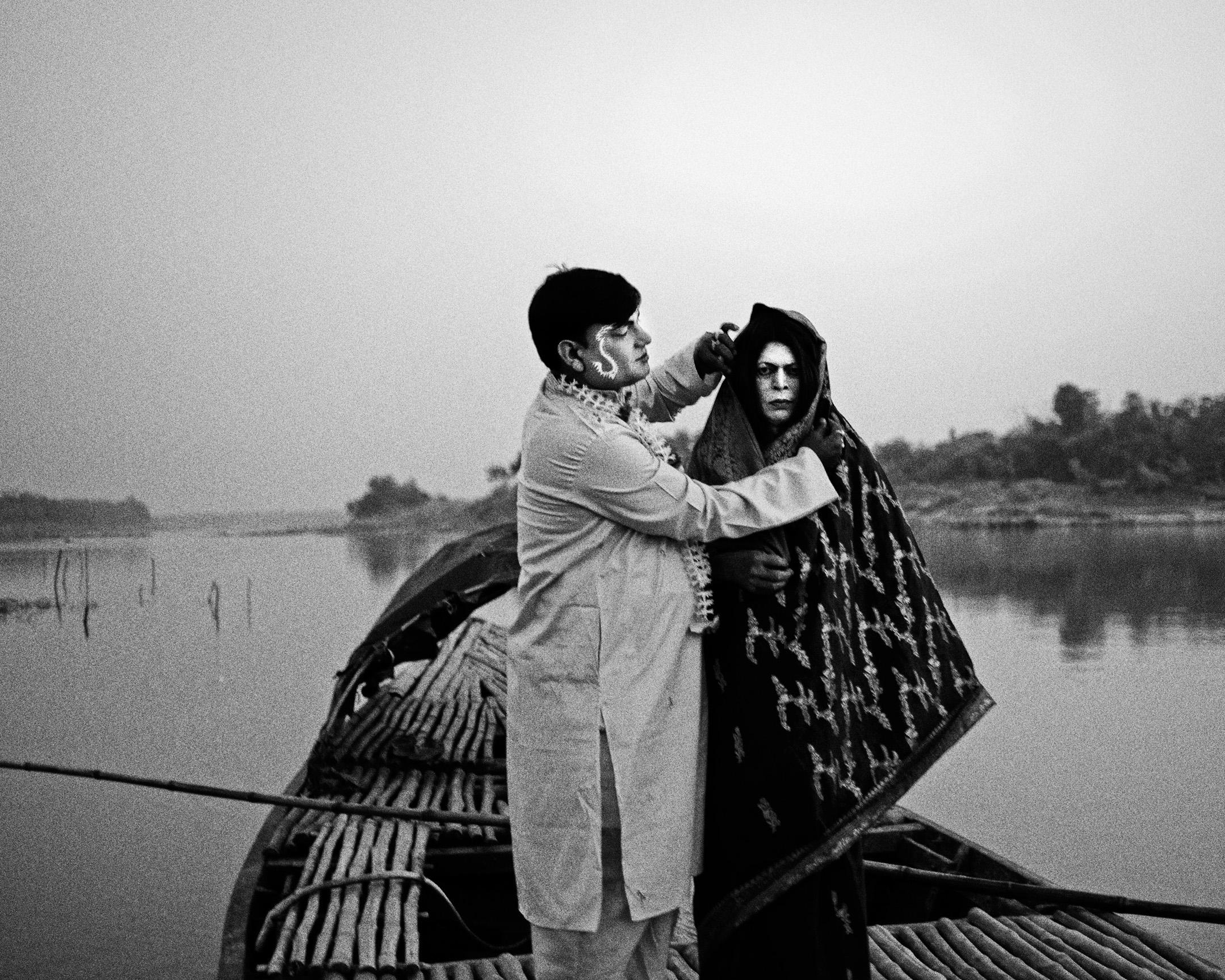 "Rabin Kumar Majhi and Anukul Ghosh, Pathara, India , 2014 from ""Let's Sing an Old Song"""