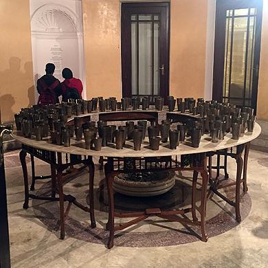 Installation View of Atul Bhalla's work in  Part Narrative